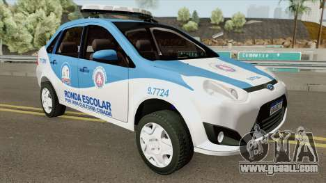 Ford Fiesta Sedan 2010 (Ronda Escolar PMBA) for GTA San Andreas