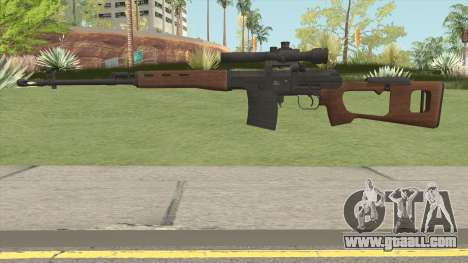 Battle Carnival SVD Dragunov for GTA San Andreas