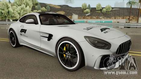 Mercedes-Benz AMG GT-R Safety Car 2017 for GTA San Andreas