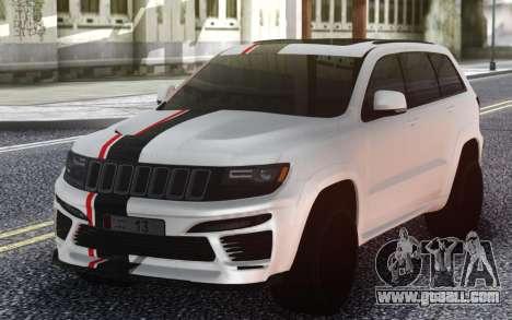 Jeep Wrangler for GTA San Andreas