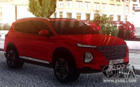 Hyundai Santa Fe FIX RED for GTA San Andreas