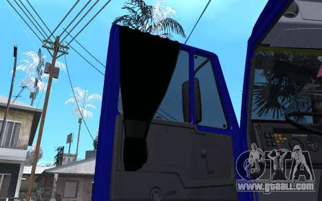 KamAZ 54115 WINTER for GTA San Andreas