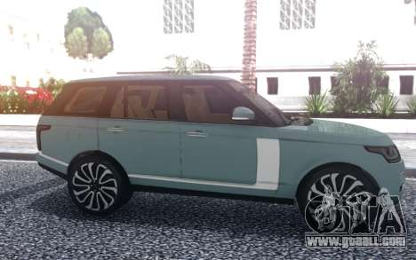 Range Rover SVA for GTA San Andreas