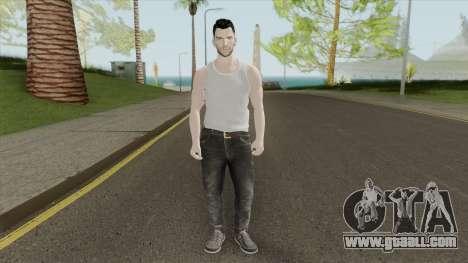 Adam Levine Beta Skin for GTA San Andreas