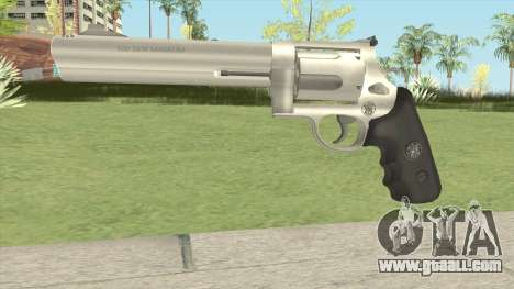 Smith and Wesson Model 500 Revolver Metal for GTA San Andreas