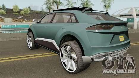 Pegassi Toros GTA V for GTA San Andreas