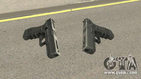 Contract Wars Glock 18 for GTA San Andreas