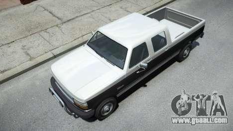 Vapid Sadler Sport Retro Crew Cab for GTA 4