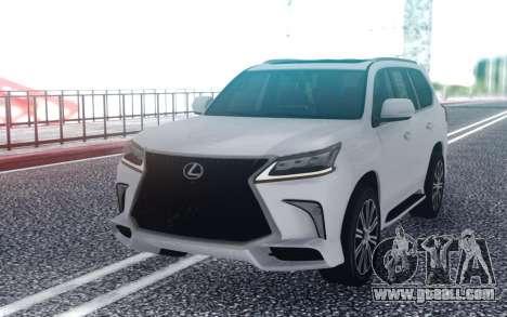 2017 Lexus LX for GTA San Andreas