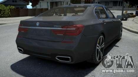 BMW 750Li xDrive for GTA 4