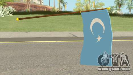 Flag Of East Turkestan for GTA San Andreas