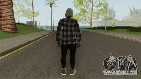 Female Random Skin From GTA V Online for GTA San Andreas