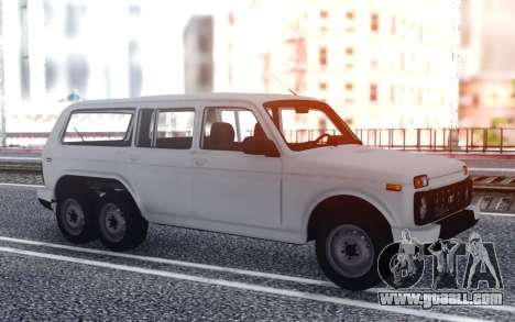 VAZ Niva 6x6 Drain for GTA San Andreas
