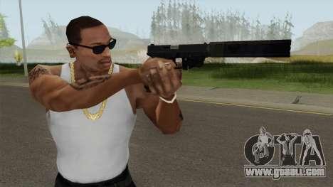 Glock 17 Laser Silenced for GTA San Andreas