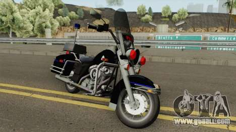 Harley Davidson PE (ExBr) for GTA San Andreas