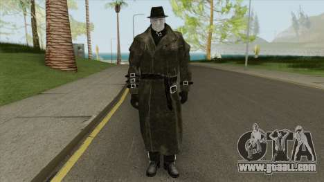 Mr X From RE2 Remake (With Normal Map) for GTA San Andreas