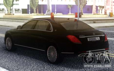 Mercedes-Benz Maybach for GTA San Andreas