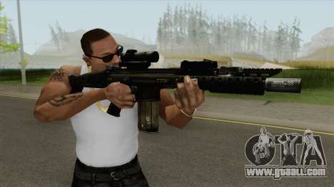 Contract Wars SCAR-H for GTA San Andreas