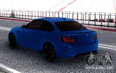 BMW M2 SPORT for GTA San Andreas