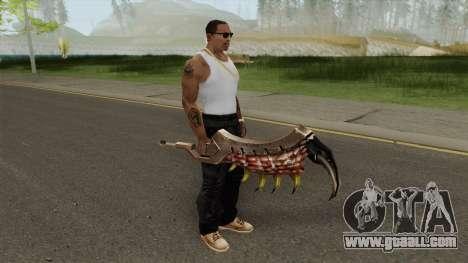 Monster Hunter Weapon V5 for GTA San Andreas