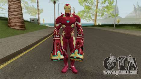 Iron Man Mark H Skin for GTA San Andreas