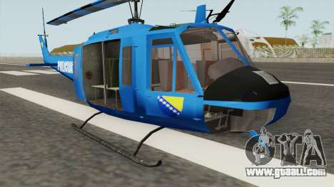 Bell UH-1 Huey POLICIJA BiH for GTA San Andreas