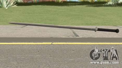 Silver Katana (Dynasty Han) for GTA San Andreas