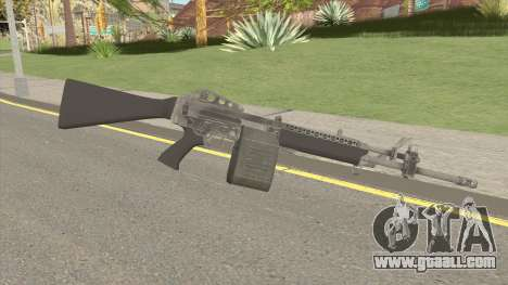 Stoner 63A for GTA San Andreas