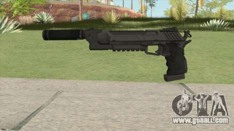 Hummer Pistol Supp for GTA San Andreas
