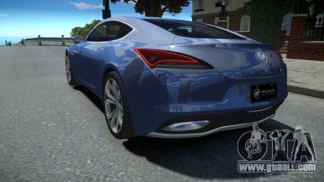 Buick Avista Concept 2016 LQ for GTA 4
