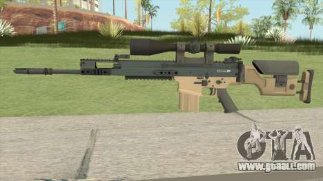 CS-GO SCAR-20 (PMC Skin) for GTA San Andreas