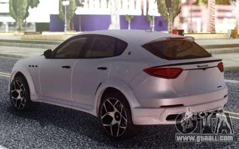 Maserati Levante Novitec for GTA San Andreas