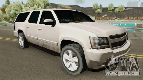 Chevrolet Suburban 2009 (SA Style) for GTA San Andreas