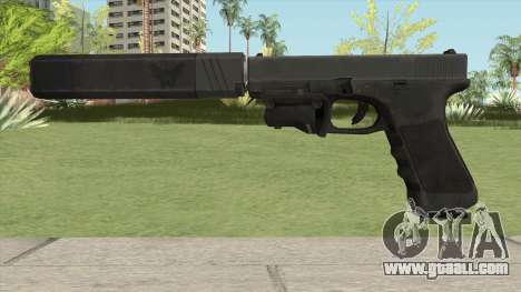 Glock 17 Laser Silenced for GTA San Andreas