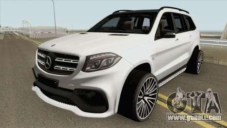Mercedes-Benz GLS63 AMG for GTA San Andreas
