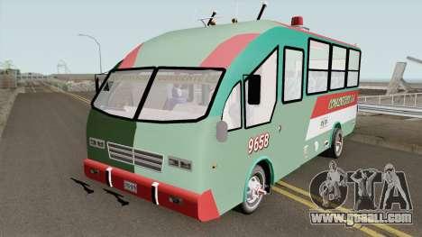 De Busetas Colombiana V2 for GTA San Andreas