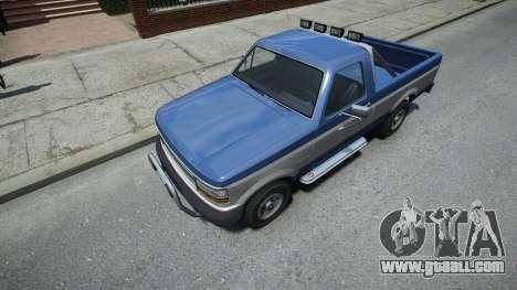 Vapid Sadler Sport Retro Single Cab for GTA 4