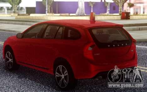 2015 Volvo V60 for GTA San Andreas