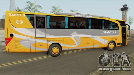 HINO RN285 AdiPutro Travego Shantika 2010 for GTA San Andreas