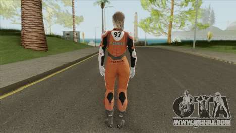 Claire Elza Walker Suit From RE2 Remake for GTA San Andreas