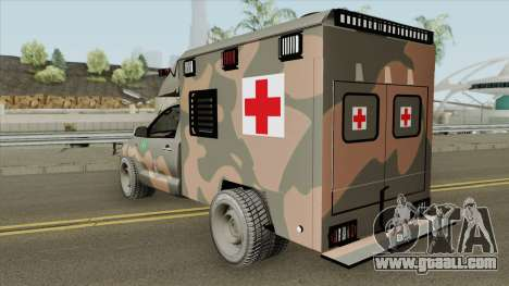 Toyota Hilux 2015 Ambulance for GTA San Andreas