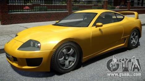 Dinka Jester Classic Revised Rims v1 for GTA 4