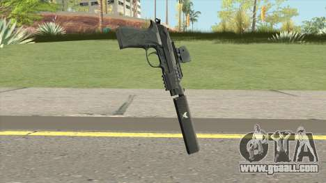 Contract Wars Beretta 92 for GTA San Andreas