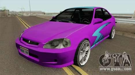 Honda Civic SA Style (Fix) for GTA San Andreas