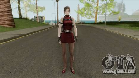 Ada RE2 Remake (Classic Outfit) Meshmod for GTA San Andreas