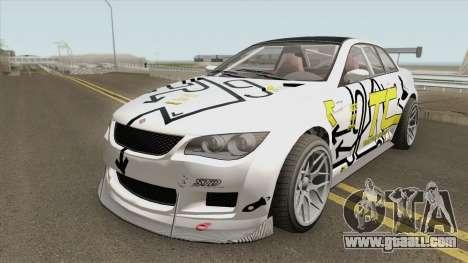 Ubermacht Sentinel XS Custom GTR GTA V for GTA San Andreas