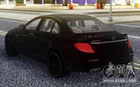 Mercedes-Benz E63 AMG S W213 for GTA San Andreas