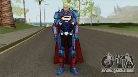 JL Lex Luthor From DC Unchained for GTA San Andreas