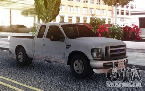Ford F-150 SA Style for GTA San Andreas