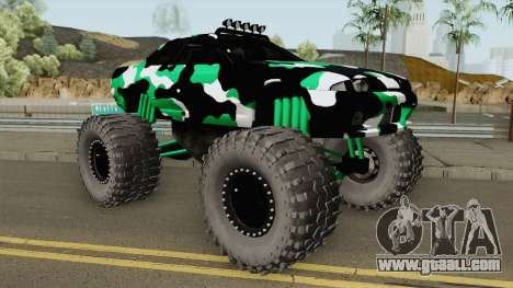 Nissan Skyline R32 Monster Truck Camo for GTA San Andreas